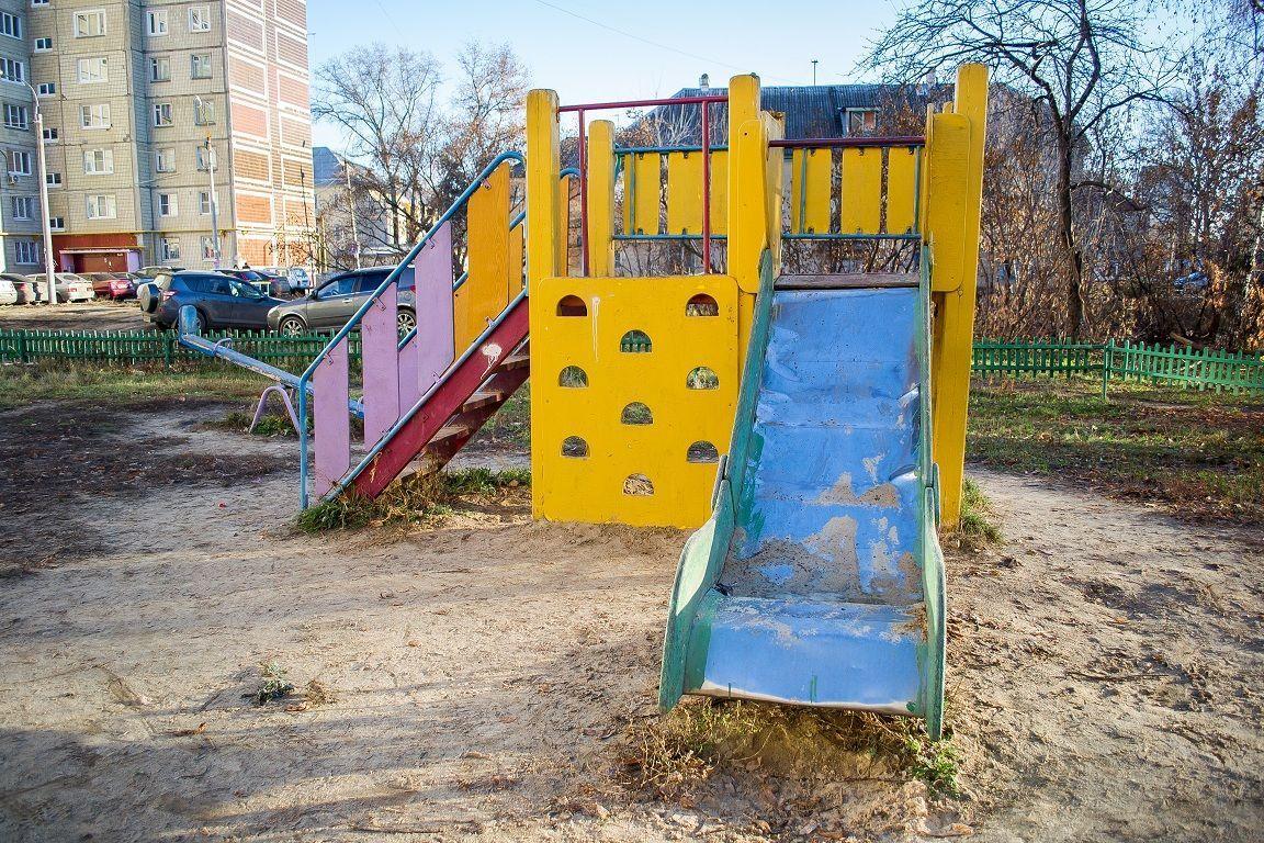 """Детские площадки ar Twitter: """"🚒Песочница П-11"""